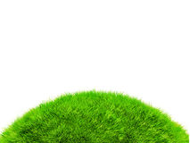 3D hill of grass Stock Photo