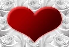 D-hjärta Royaltyfria Foton