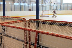 But d'hockey de rechange Photographie stock