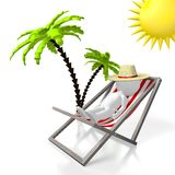 3D holiday concept Royalty Free Stock Image