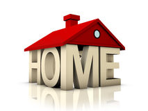 3D Home Stock Photography