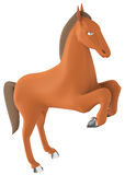 The 3D horse Stock Photos