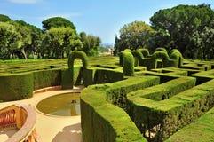 d'Horta de Parc del Laberint en Barcelona, España Foto de archivo libre de regalías