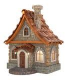 3d house cartoon Stock Photos