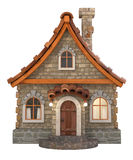 3d house cartoon illustration Royalty Free Stock Photo