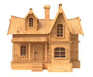 3d house cartoon illustration Royalty Free Stock Images