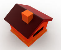 3d house model concept Stock Photo