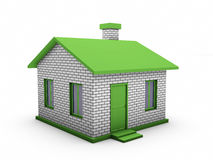 3d house model Royalty Free Stock Photos