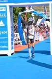 d'Huez 2009 de Alpe del Triathlon Imagen de archivo libre de regalías