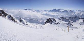 d'Huez de Alpe Fotografia de Stock