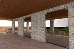 3D huis Stock Afbeeldingen