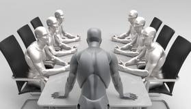 3D Humas-Zaken Conferention Royalty-vrije Stock Foto's