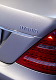 d hybrydowy Mercedes tail Obraz Stock