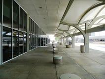 D3ia exterior del aeropuerto internacional de Tulsa, nadie fotos de archivo