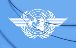 3D ICAO的旗子 图库摄影