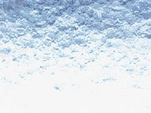 3D Ice Background Illustration Royalty Free Stock Images