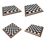 3D Icon chessboard. 3D Icon Design Series. Stock Photo