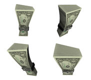 3D Icon of money diet. 3D Icon Design Series. Royalty Free Stock Photography