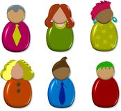3d Icon People stock illustration