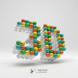3d icon. Web sign. Design element. Vector Stock Images
