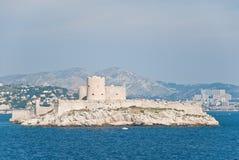 d'If del chateau, vicino a Marsiglia, la Francia Immagini Stock