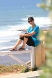 d'Ilhas van het meisje en Ribeira royalty-vrije stock afbeelding