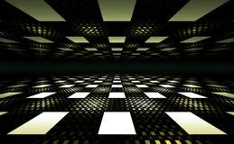 3D Illusion Geometric Background Royalty Free Stock Photos