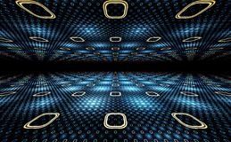 3D Illusion Geometric Background Stock Images