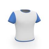 3D Illustratie De t-shirt van mensen Royalty-vrije Stock Foto