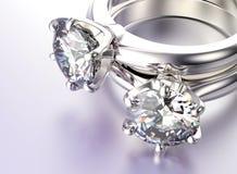 3D illustratie gouden ring met halfedelsteen De gouden en Zilveren Zwarte Achtergrond van de Juwelen van de Stof Fas Royalty-vrije Stock Foto