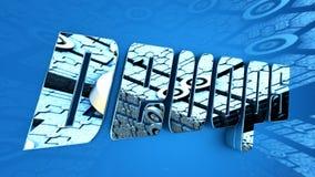 3D Illustratie: Ontwikkeling & Verrichtingen Stock Fotografie