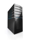 3D illustratie van de server van het netwerkwerkstation Stock Afbeelding