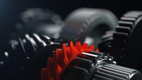 3d illustratie van de wielen van het motortoestel, close-upmening Royalty-vrije Stock Foto's