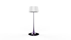 3d illustratie van een lamp Stock Afbeelding