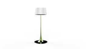 3d illustratie van een lamp Stock Afbeeldingen