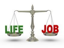 3d leven en baan op schaal vector illustratie
