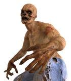 3D Illustratie van het zombiemonster Royalty-vrije Illustratie