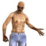 3D Illustratie van het zombiemonster Vector Illustratie