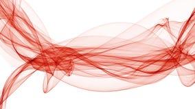 3d illustratie van kleurrijke golven kijkt als rook Royalty-vrije Stock Afbeeldingen