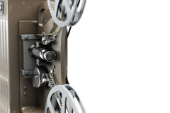 3D illustratie van Retro filmprojector dichter Stock Foto