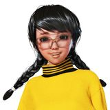 3D Illustratie van Toon Girl Royalty-vrije Stock Afbeeldingen
