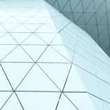 3d illustration abstract architectural pattern Royalty Free Stock Photo