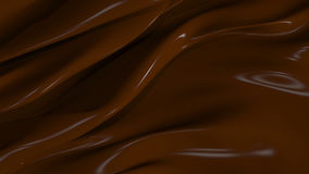 3D Illustration Abstract Chocolate Background Stock Photos