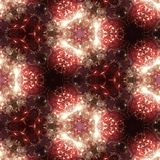 3d illustration. Abstract image of a holiday firework. Close-up Stock Images