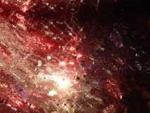 3d illustration. Abstract image of a holiday firework. Close-up Stock Photos