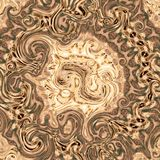 3d illustration of an abstract image of a wooden background. Color Royalty Free Stock Photography