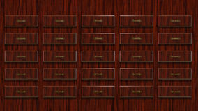 3D illustration Abstract Locker Royalty Free Stock Image
