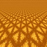 3d illustration of abstraction of golden background. Illustration of abstraction of golden background Stock Image