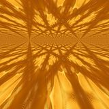 3d illustration of abstraction of golden background. Illustration of abstraction of golden background Stock Photos