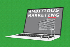 Ambitious Marketing concept Royalty Free Stock Photo